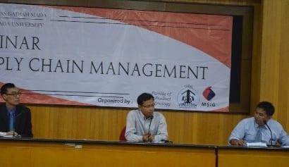 Seminar Supply Chain Management yang diselenggarakan FORESTECH bekerjasama dengan MSIG