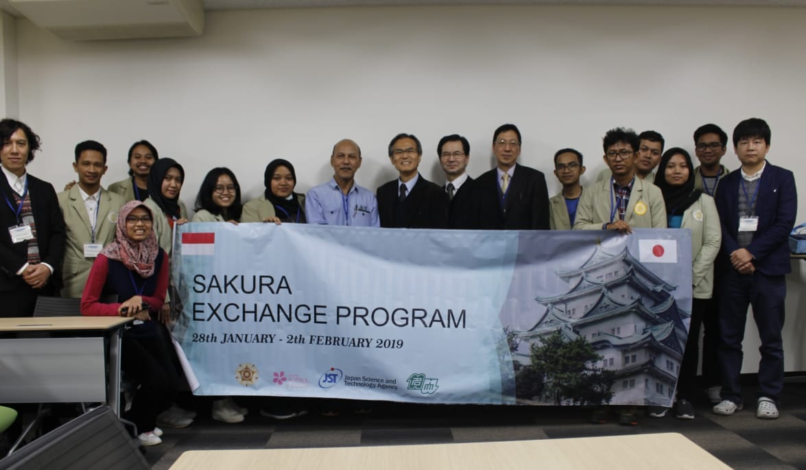 Student group of Dept. Forest Product Tecnology (FORESTECH) visit Nagoya University